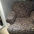 Black and Cream Colour Chair