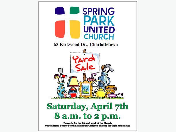 Spring Park United Church Annual Spring Yard Sale