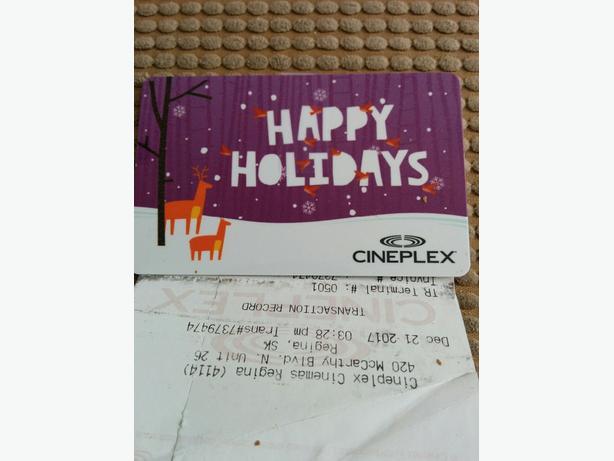 Ciniplex Gift Card