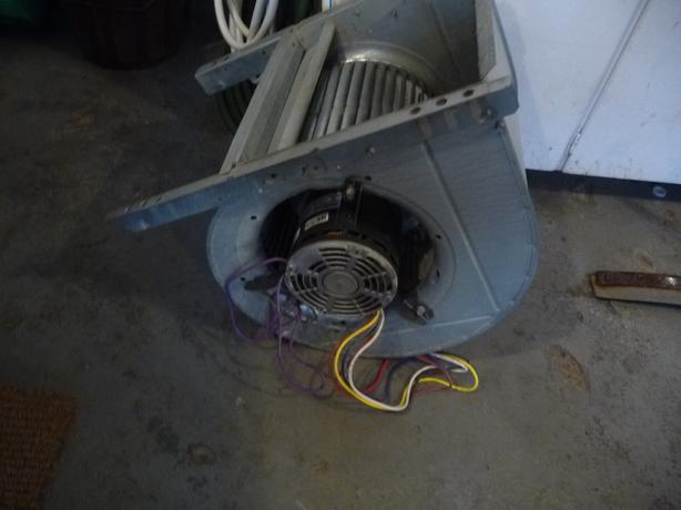 Lennox furnace motor and fan