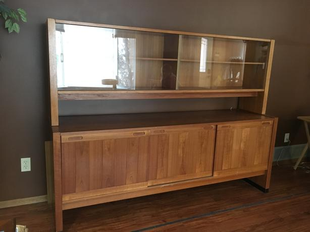 Solid Teak Hutch