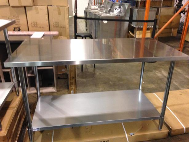 Online Stainless Work Table Liquidation Auction