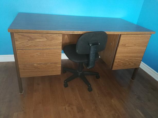 Large Desk, 5-drawer