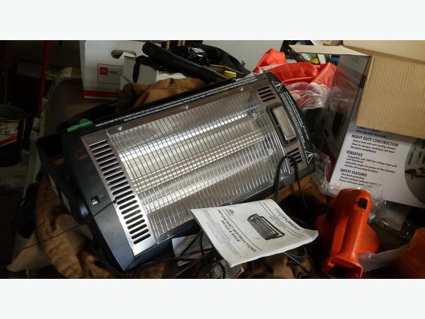 Overhead radiant heater