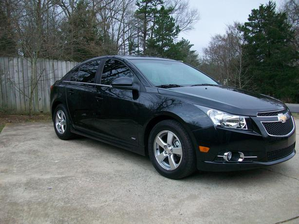 2012 Chevrolet Cruze 4D Sedan Turbo