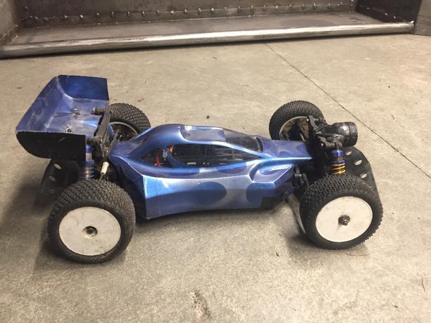 OBO Kyosho Lazer ZX-5 4x4 Buggy