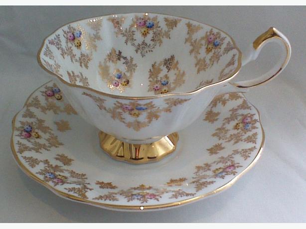 Queen Anne teacup & saucer