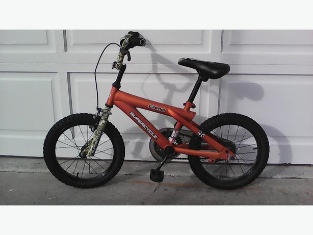 boys 16inch camo bike