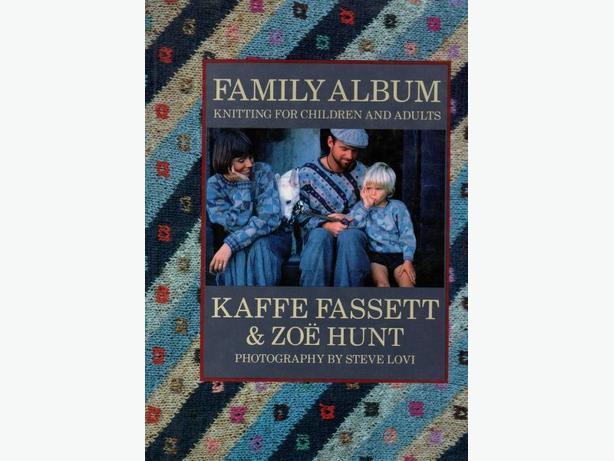 Knitting Book FAMILY ALBUM  by Kaffe Fassett