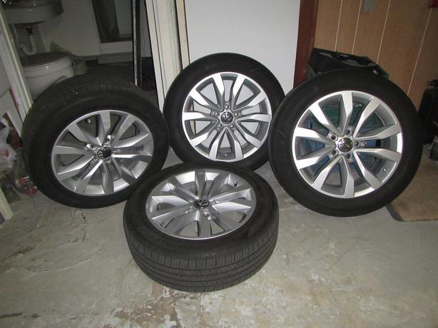 All Season 215 55R 17 OEM Wheels.