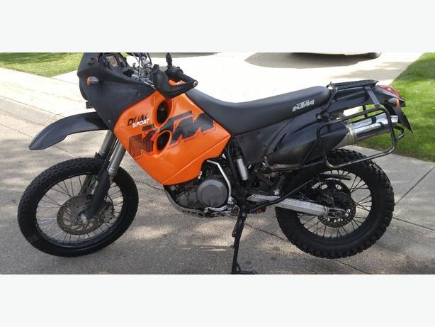 ktm 640 adventure dual sport lc4 motorcycle