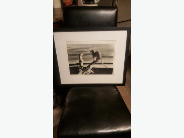Limited Edition Framed Signed Numbered Owen Garratt Print