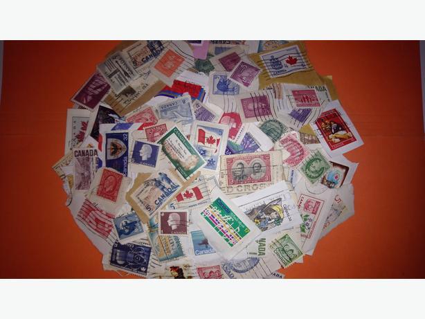 Vintage Postage Stamps (Canada)