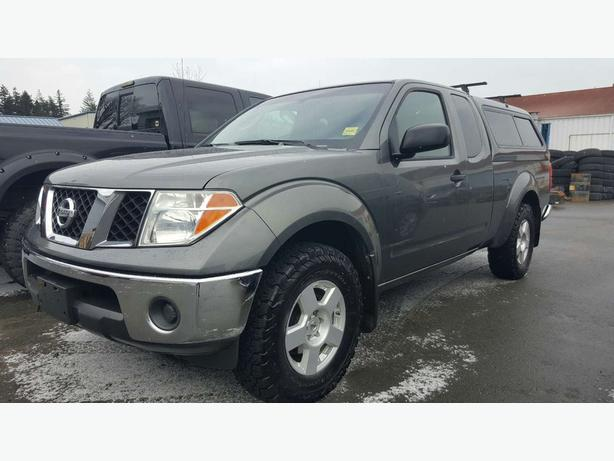 2007 Nissan Frontier *matching canopyREPORT AD