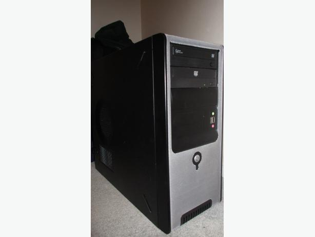 Black tower computer case - Delivery possible