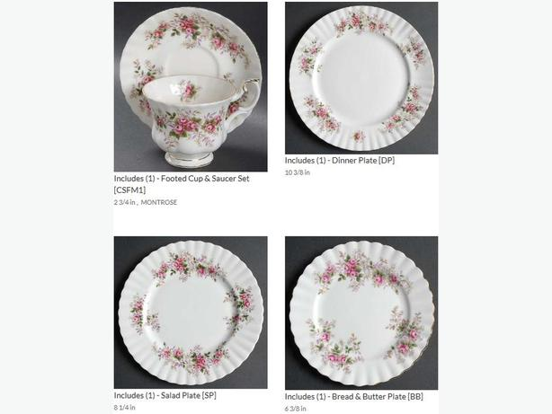 Royal Albert Lavender Rose China