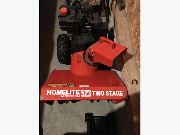 Homelite SnowBlower for sale