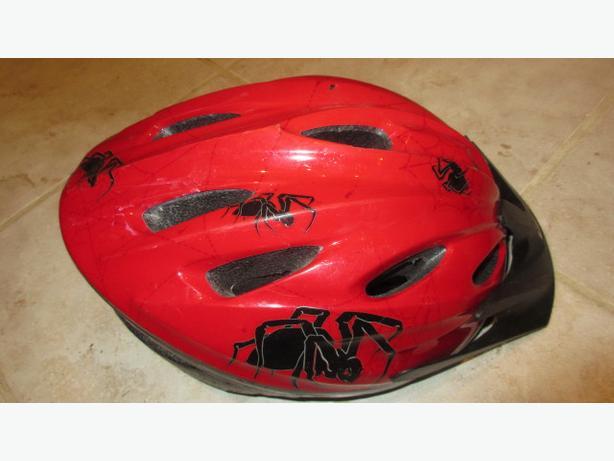 Red Racer child bike helmet