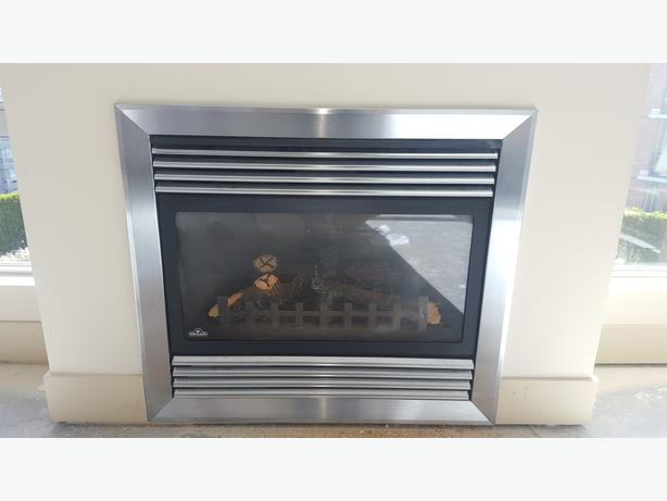 Tremendous Napolean Gd34 Direct Vent Natural Gas Fireplace Saanich Beutiful Home Inspiration Ommitmahrainfo