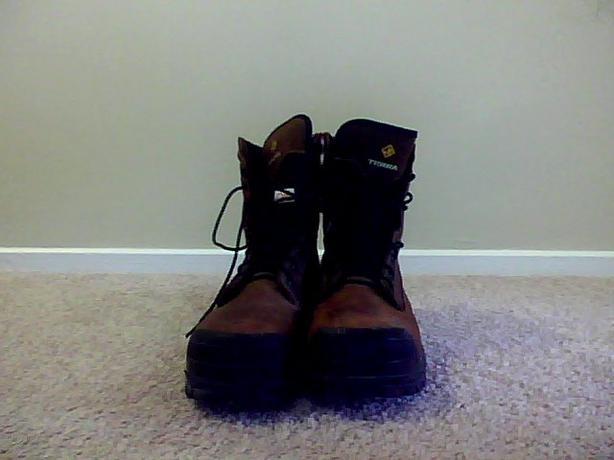 MEN'S 10.5 8'' STEEL TOE PROTECTIVE FOOTWEAR