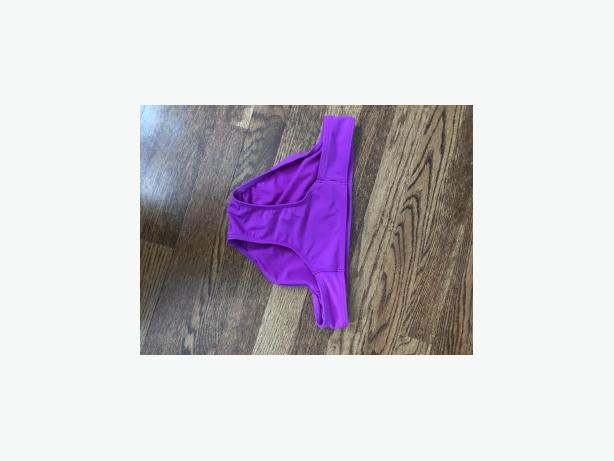 LADIES PURPLE BIKINI BOTTOM SIZE SMALL - BOUGHT AT BIKINI VILLAGE