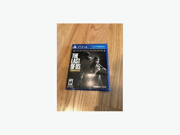 The Last of US PS4 - mint