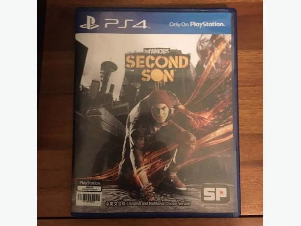 Infamous Second Son - PS4 - great condition