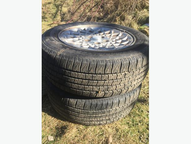 Pair of all season tires ~Motomaster All season~ 215/60R60