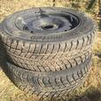 Pair of winter tires ~Weathermaxx Arctic winter WS321~ 185/65R14