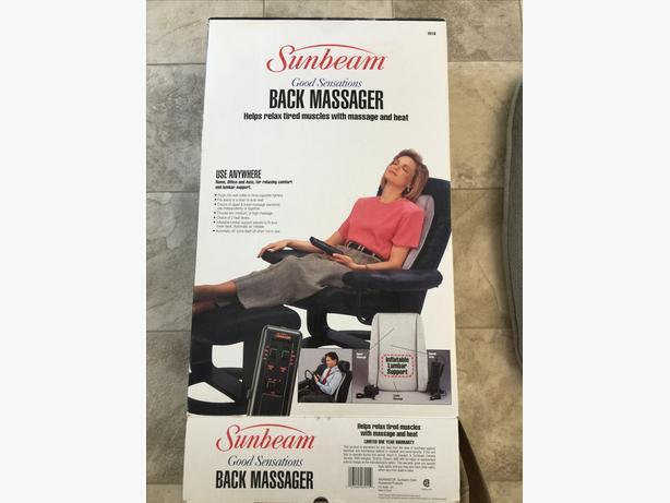 Sunbeam Good Sensations Back Massager