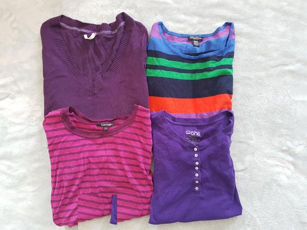 Purple shirts