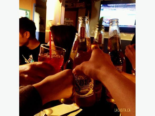 Wednesday Specials - $5 SOL Beer at La Casita