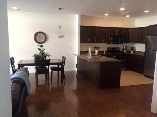3 bedroom 2 bath furnished condo month to month avail now