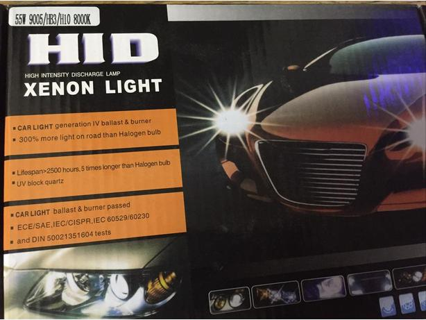 Xenon Super Vision HID Conversion kit, 55W, 9006 size, 800K