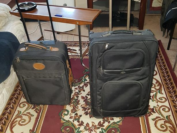 Travel suitcases. Free delivery.