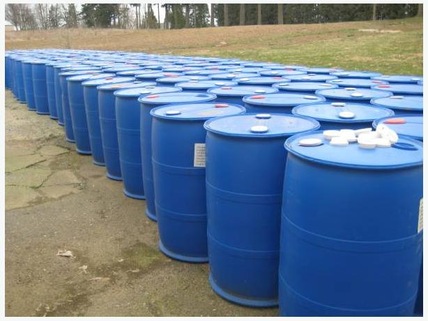 55 gallon blue barrels