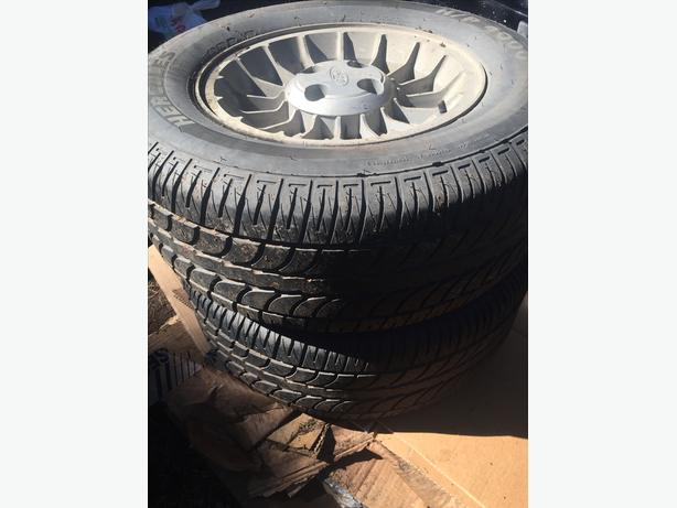 pair of tires ~Hercules H/P 4000~ P245/60R15