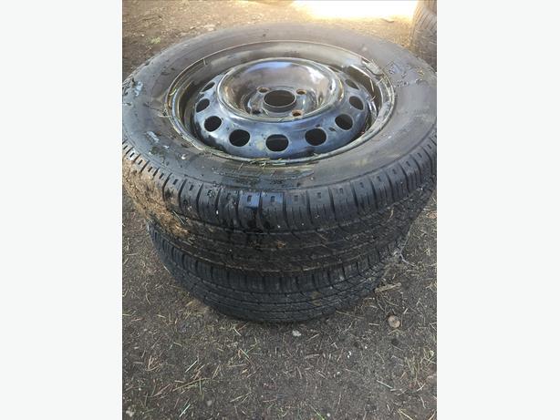 pair of tires ~Steel belted GTRadial~ 185/65R14