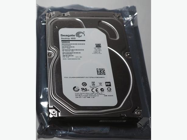 "5TB Seagate hard disk - 3.5"" SATA"