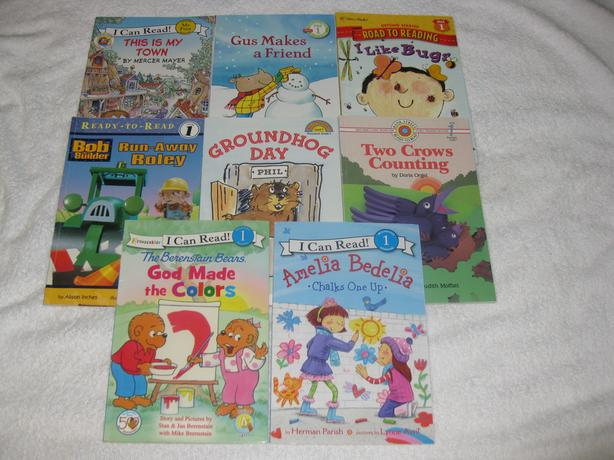 CHILDREN'S BOOKS - EARLY READERS / LEVEL 1 - GREAT SELECTION - CHECK IT OUT~!