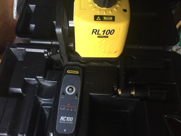 Stanley RL 100 manual rotary laser leveling system