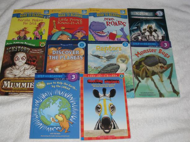 CHILDREN'S BOOKS - EARLY READERS / LEVEL 3 - CHECK IT OUT!