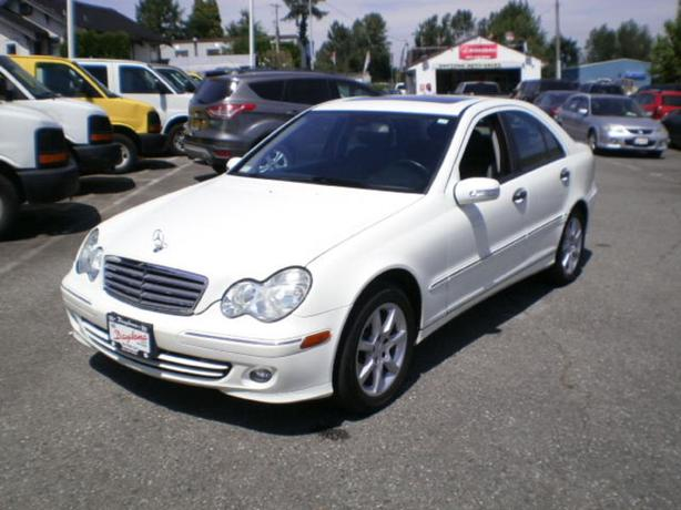 2006 Mercedes Benz C230, 2 year power train warranty,