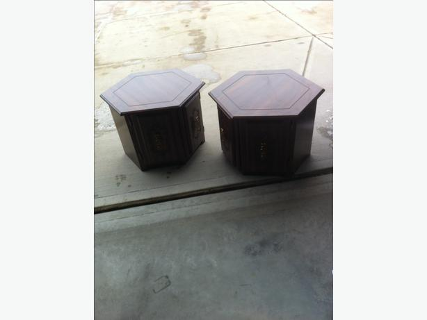YORKTON - END TABLES AND COFFEE TABLE - READ BELOW