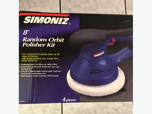 "Mint Condition 8"" Simoniz Palm Grip Random Orbit Polisher Kit"