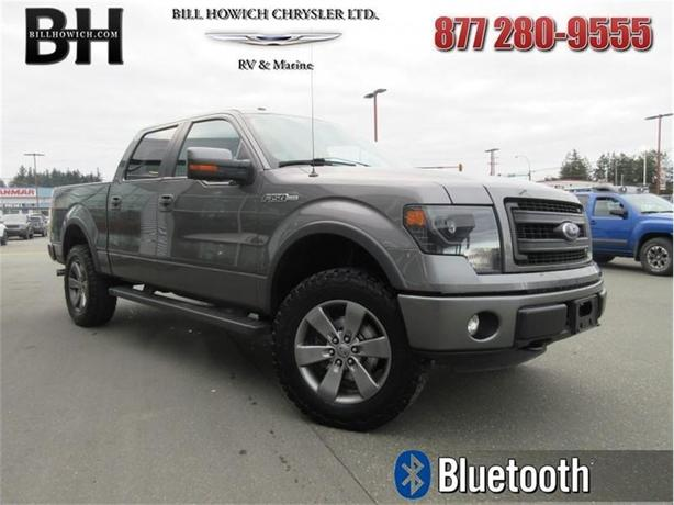 2013 Ford F-150 FX4 - Air - Rear Air - Tilt - $207.09 B/W