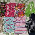 Large box of girls clothes tags 6-9 Months