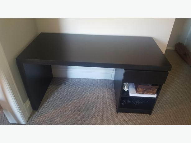 Thick Solid Wood Computer Desk