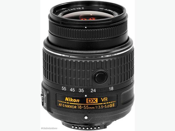 Nikon kit lens DX 18 -55mm VR II (Look new)