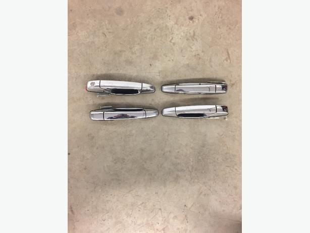 silverado or sierra or suburban or yukon Chrome door handles